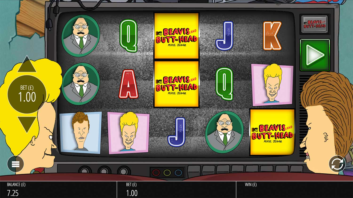 Beavis & ButtHead Slot Review